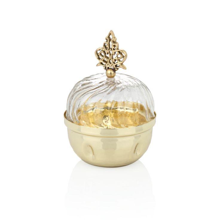 Bernardo Osmanlı Serisi Cam Lokumluk / Glass Turkish Delight Bowl #bernardo #glass #turkishdelight #ottoman
