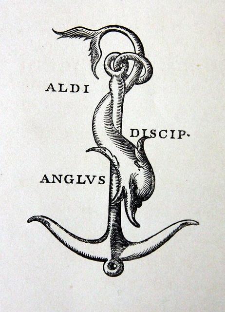 Dolphin Printer's Mark, William Pickering