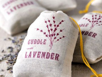 cuddle with lavender sachets from Pink Olive - $9.00