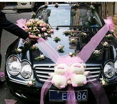 Wedding Car Decorations Cars Services Indian Weddings Marriage Bridal