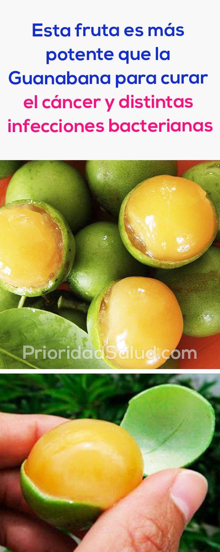 La huaya es una fruta es más potente que la guanábana para curar el cáncer y muchas infecciones bacterianas.
