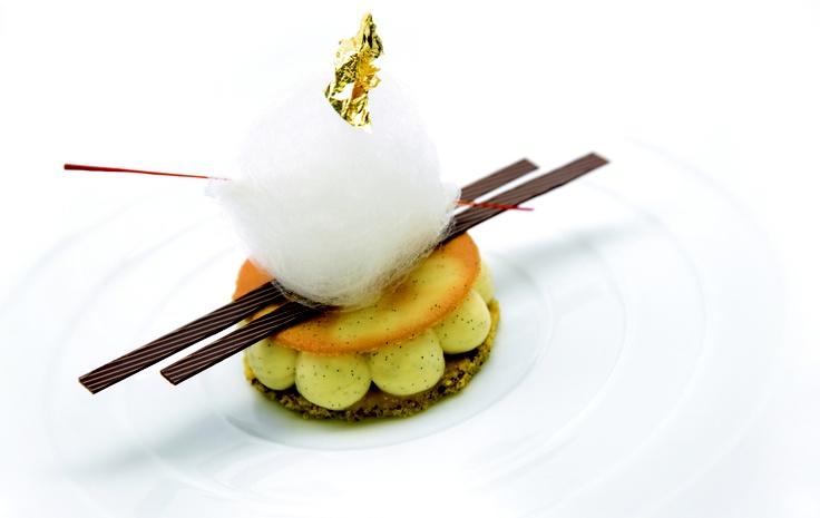 Relais & Châteaux - Hotel Bareiss (Allemagne) - Grand Chef Claus-Peter Lumpp. #hotelbareiss #dessert #relaischateaux