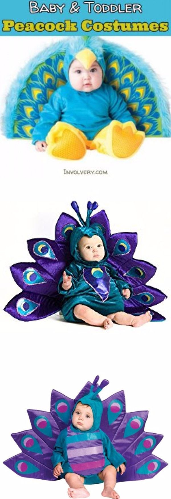 Baby Peacock Halloween Costume Ideas - toddler peacock costumes too