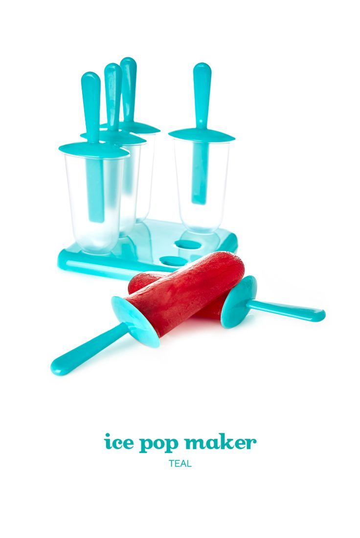 Freeze your favourite teas into ice pops with this easy-to-use ice pop maker.