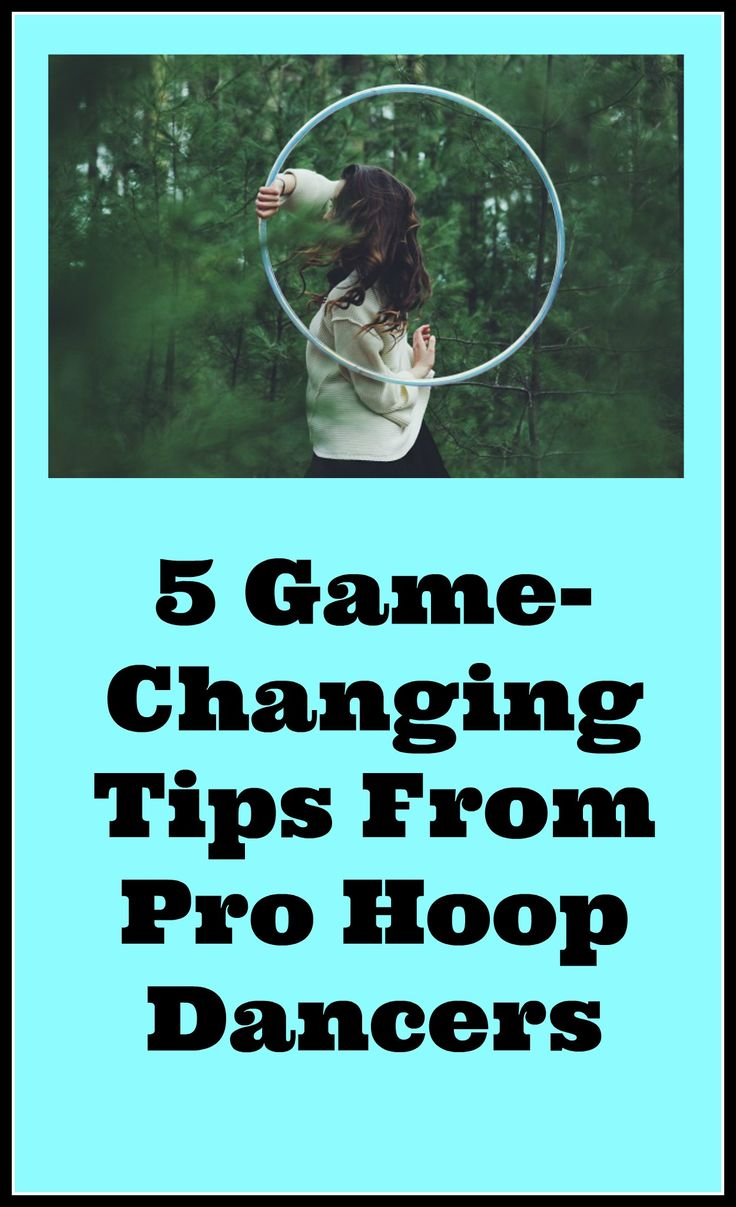Hula Hoop Dance Tips from teachkidstohoop.com
