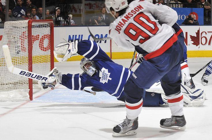 Toronto Maple Leafs - James Reimer - Superman Save!
