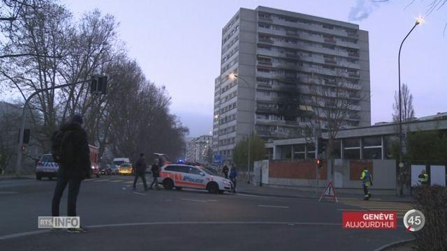 Plusieurs blessés suite à un incendie dans un immeuble à Genève - rts.ch - Genève
