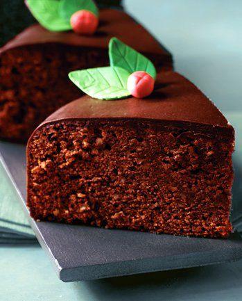 Bolo de Chocolate com Amêndoa