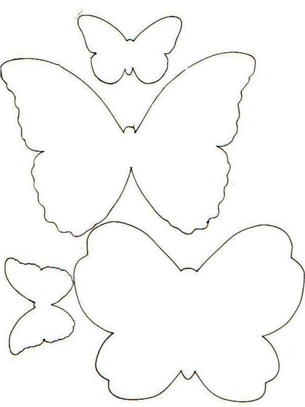 Kelebek Kalıpları Boyama