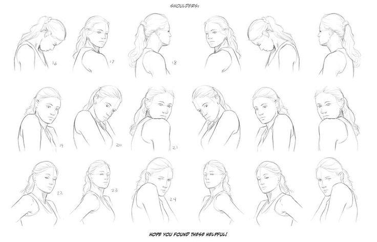 Neck And Shoulder Reference Sheet Art Drawing Tips By Melissa Dalton Blog Website Www Melissadalton Deviant Drawings Anatomy Reference Art Reference