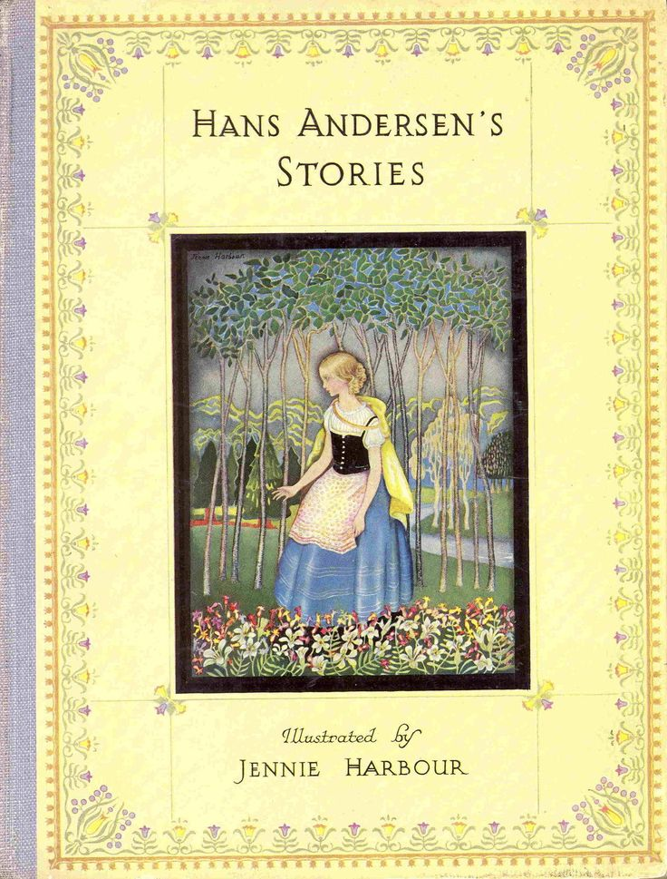 Hans Andersen's Stories; Illustrated by Jennie Harbour