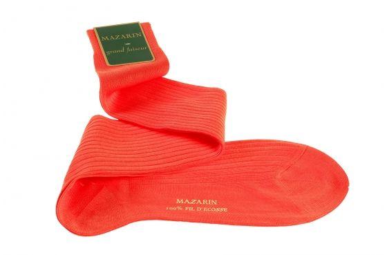 Mi-bas corail, Mes Chaussettes Rouges