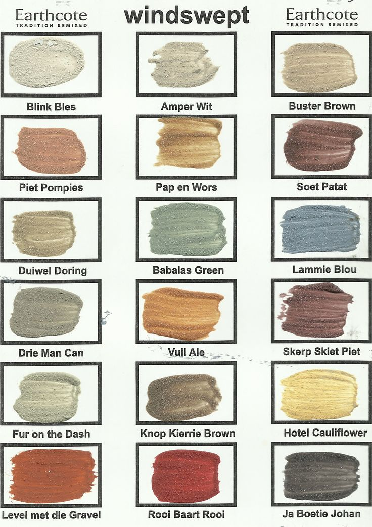 The true colours of south africa wonderables - Exterior house paint colours south africa ...