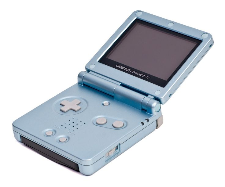 Nintendo Gameboy Advance SP-this is exactly like mine! Still love to play it on long trips and such