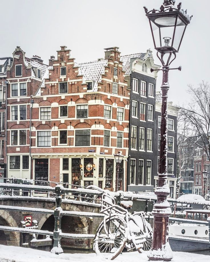 Amsterdam Netherlands The Netherlands Winter Photography European
