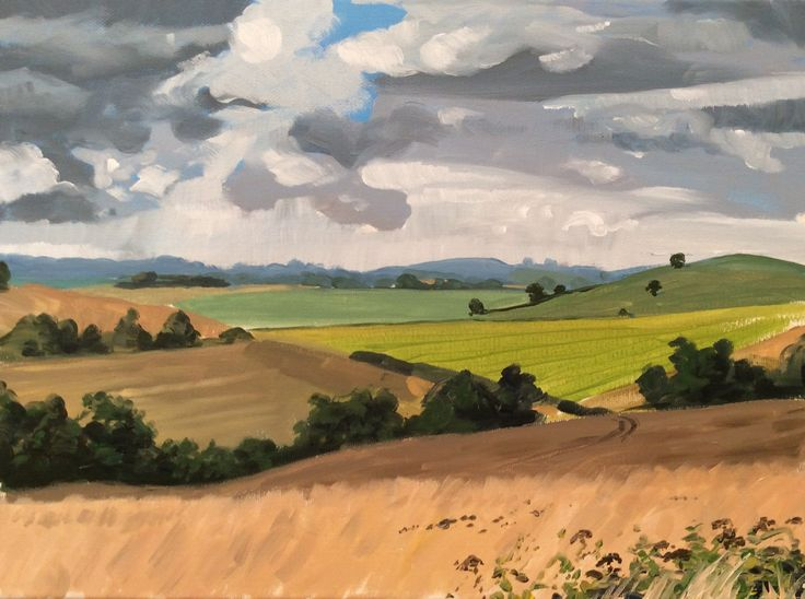 Learn how to paint grasses in acrylics with jon cox as for How to learn to paint with acrylics