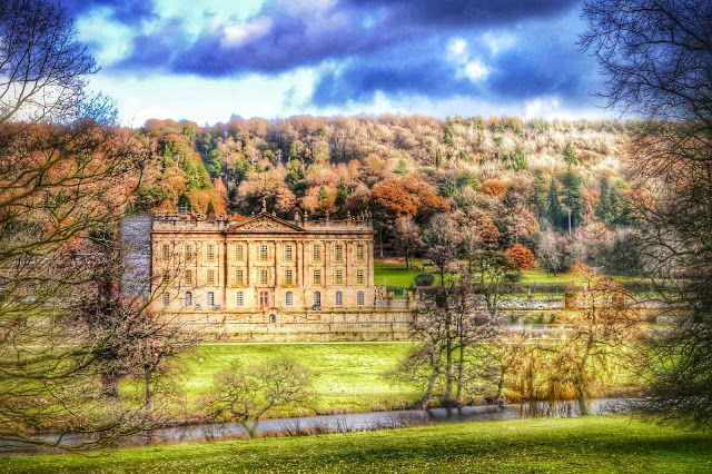 Chatsworth House HDR photography