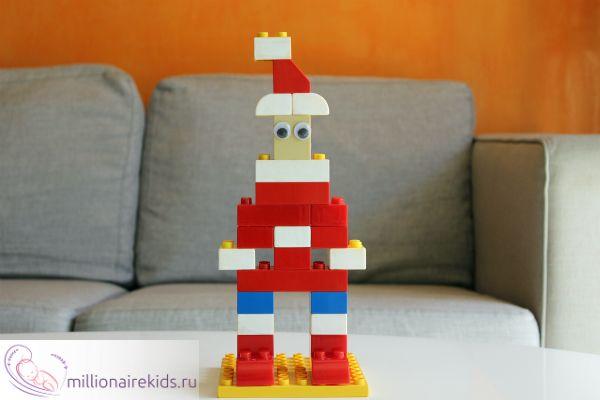 Дед Мороз из Лего