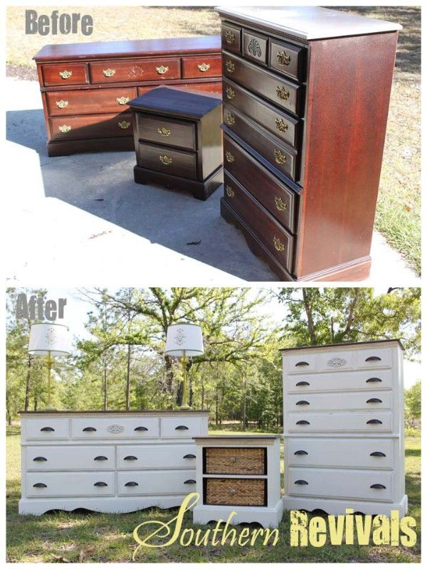 Full Room Furniture Revival - Top 60 Furniture Makeover DIY Projects ...