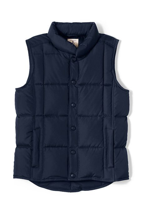 Boys Down Vest from Lands' End