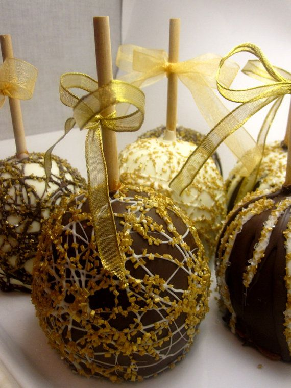 how to make candy apples with glitter