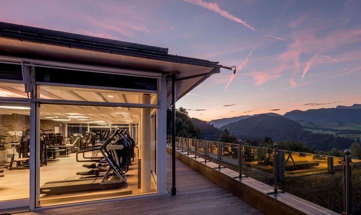 Fitnesscenter im Hotel Allgäu Sonne