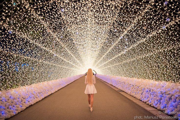 Illumination in Nabana no sato flower park, Nagashima, Japan  Travel to Japan with @iveseen_