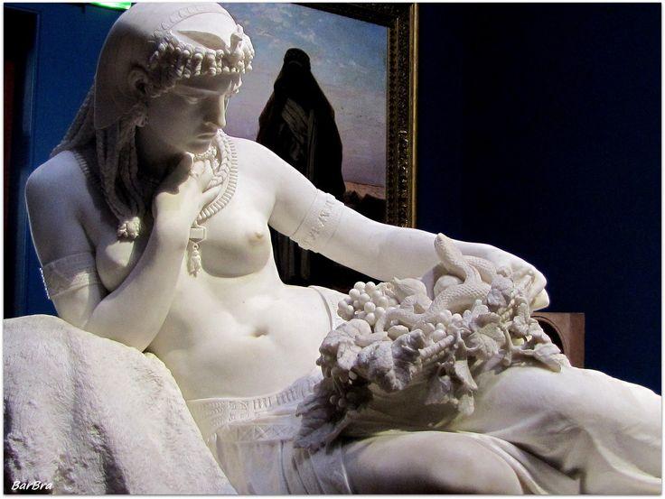 Cleopatra - ZIBALBAR-foto http://www.galleriaartemodernaroma.it/
