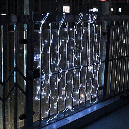 Weihnachtsbeleuchtung Für Balkon Aussen.Samoleus 12m 100 Led Lichtschlauch Solar Wasserdicht Ip65 Solar