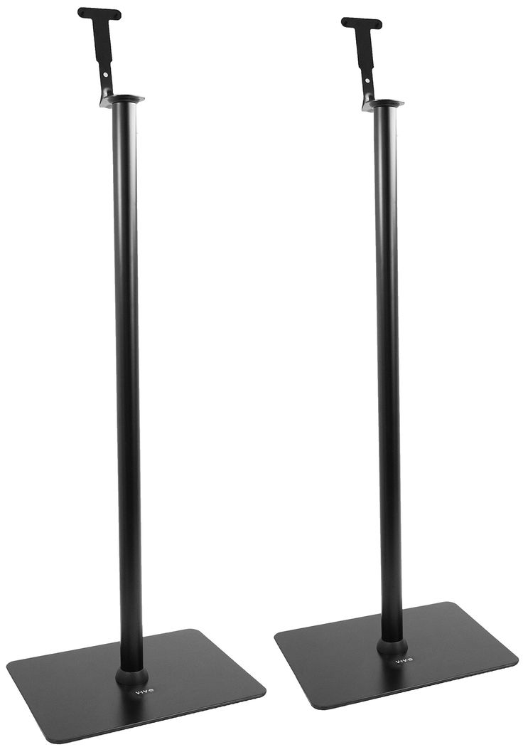 VIVO Speaker Floor Stands (Pair) for SONOS PLAY 1 and PLAY 3 Audio Speaker Mounts (STAND-SP03C)
