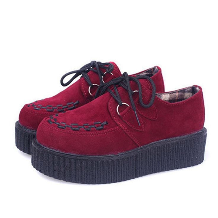 Klimplanten Platform Schoenen Vrouw Flats Schoenen Sapatos Mujer Klimplanten Schoenen Zwart