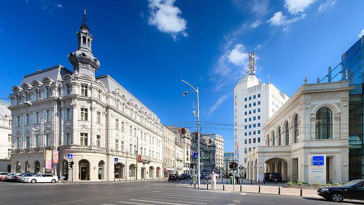 Victory Avenue (Calea Victoriei), a major avenue in central Bucharest