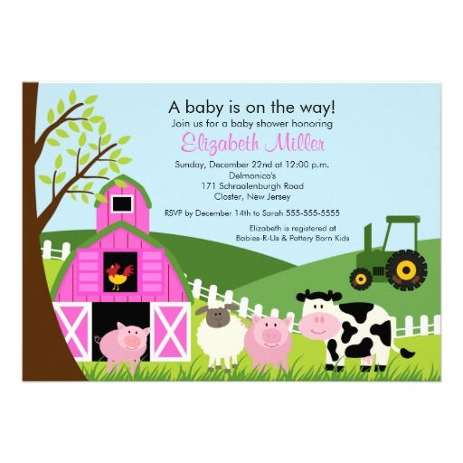 1000 images about barnyard baby shower invitations on pinterest