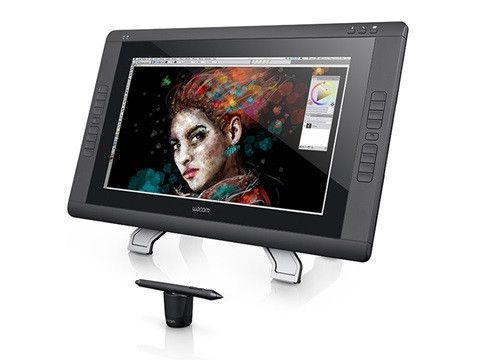 Dive into your digital image with the Cintiq 22HD touch. Featuring a combination of pressure sensitive pen and multi-touch gesture input, the Cintiq 22HD offers a seamless on-screen creative experienc