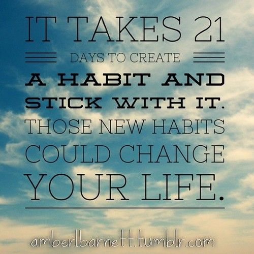 It takes 21 Days to form a habit, and with the plexus 60
