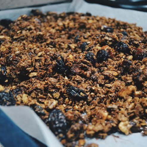 Chocolate Raisin Granola