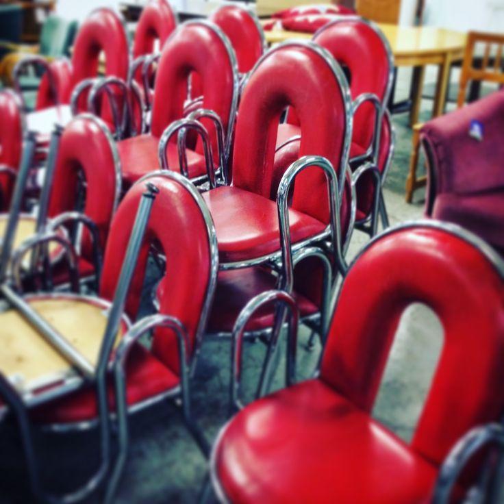 Take a seat! #kike #hraks #cinema #red