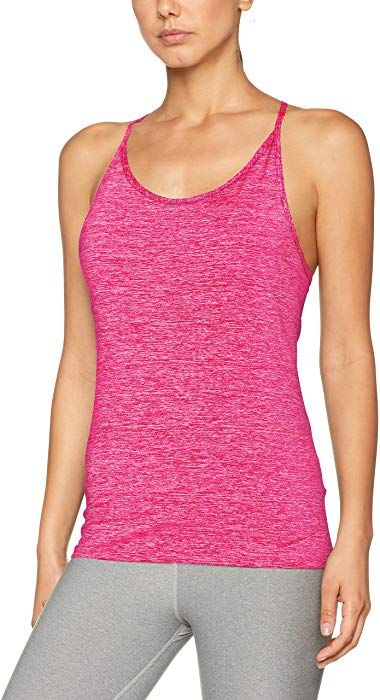 d69f84d0a54c8 Amazon.com: NIKE Women's Dri-Fit Tuned Cool Training Tank Top-Pink ...
