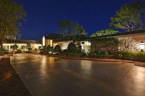 Elvis Presley 1960's Beverly Hills Home