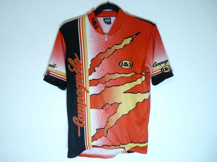 Vintage Campagnolo cycling jersey maillot cycliste Louis Garneau - Medium