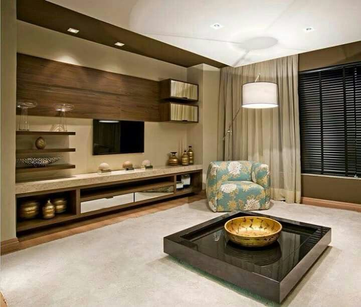 Wall Units, Wall Unit Designs, Living Room Ideas, Kitchen Living, Rugs,  Dinner Parties, My House, Arquitetura, Wood