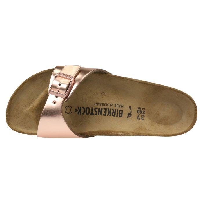 1005051|Birkenstock Madrid NL Sandale schmal Met. Kupfer