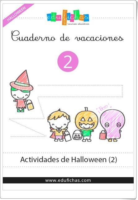 """Cuadernillo de Halloween 2 para Educación Infantil"" (Edufichas.com)"