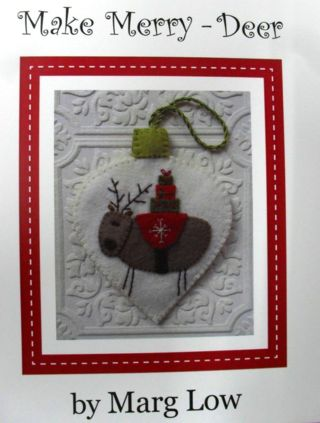 """""""Make Merry- Deer"""", another fabolous designn by Marg Low."""