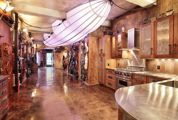 Steampunk design ideas modern steampunk interior trends Steampunk home ideas