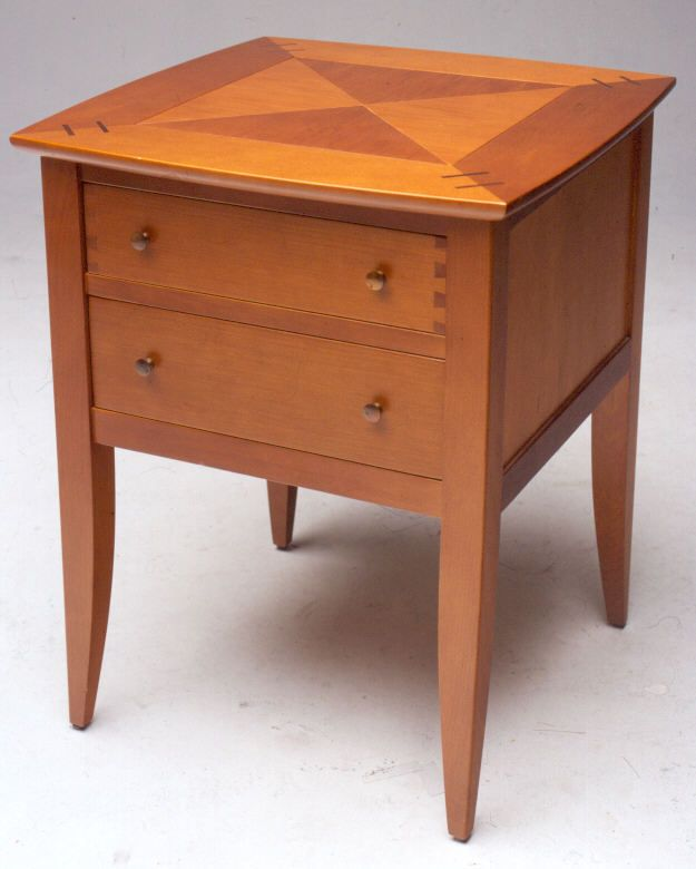 Parquet Bedside table by Rose and Heather NZ