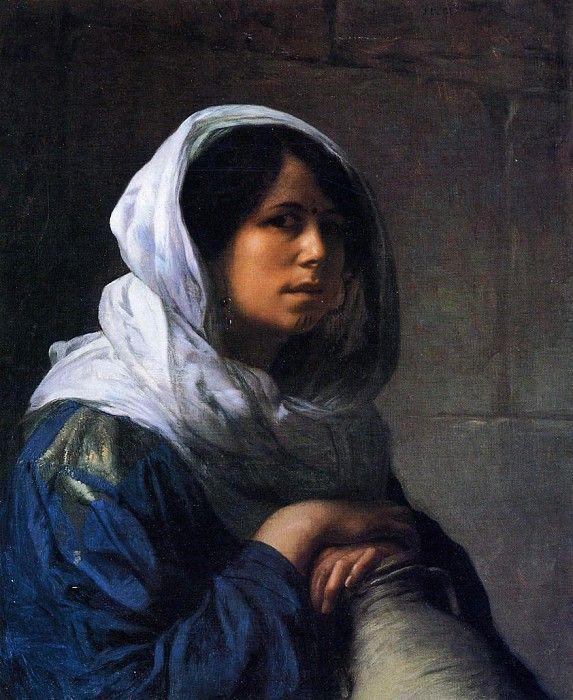Египтянка разносчица воды. Жан-Леон Жером