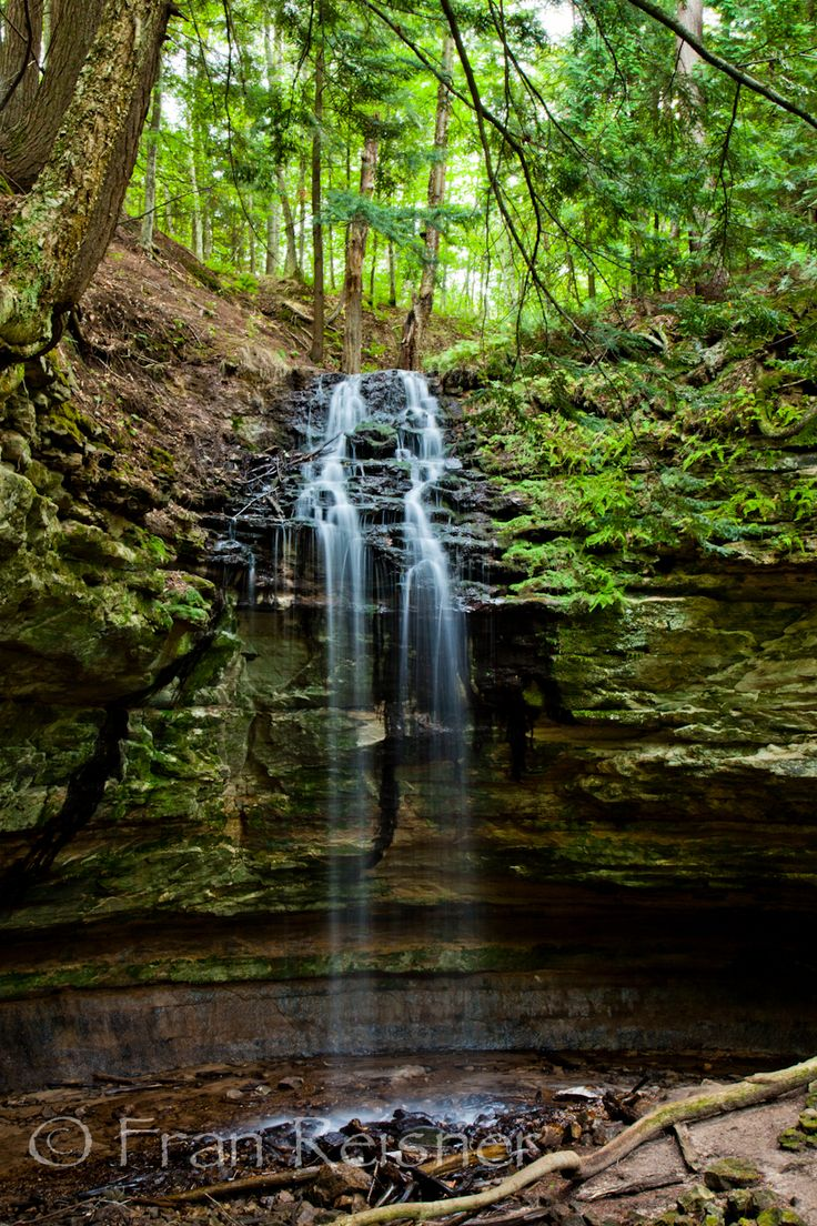 Tannery Falls, near Munising Michigan... exploring pure michigan together!