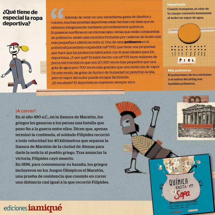 ¡Algunos #datosCuriosos para festejar el #DiadelDeporteparaelDesarrolloylaPaz - #DiaMundialdelaActividadFisica! #LIJ #Quimica #Deporte #Olimpiadas #ropa #libros #DiaDe
