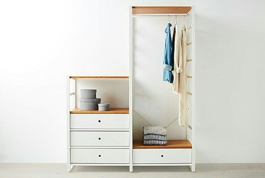 ikea elvarli 347 ikea pax and elvarli hacks pinterest flure einrichtung und wohnen. Black Bedroom Furniture Sets. Home Design Ideas